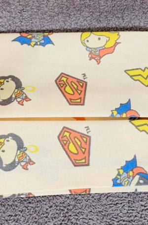 Mini Super Heroes face mask